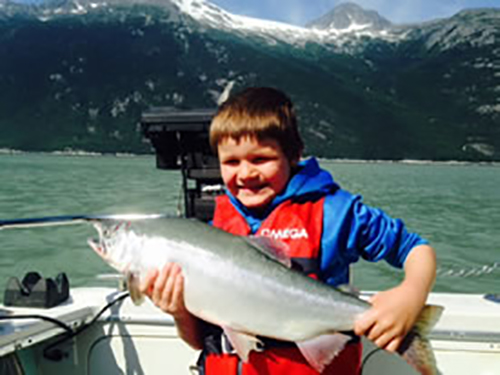 Fishing is fun at all ages